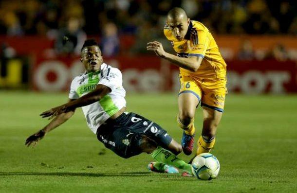 Tigres - Santos: duelo para afianzarse en zona clasificatoria