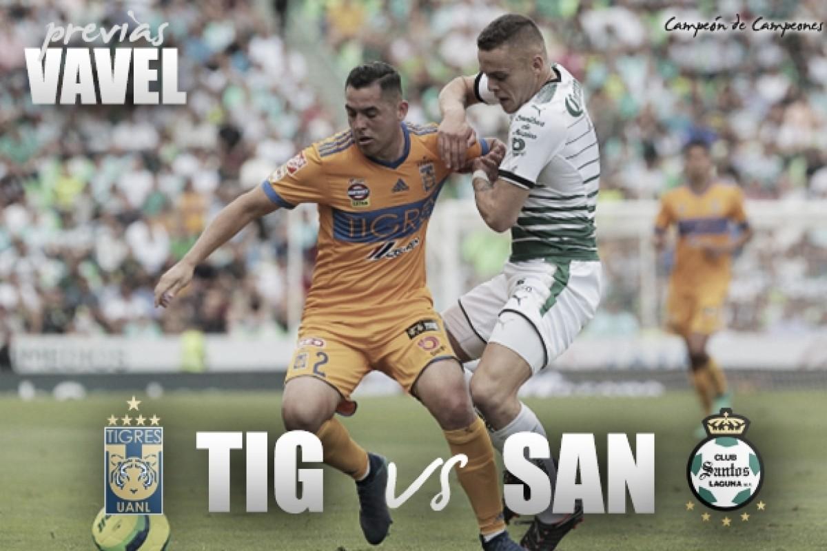 Previa Tigres - Santos: por el Tricampeonato