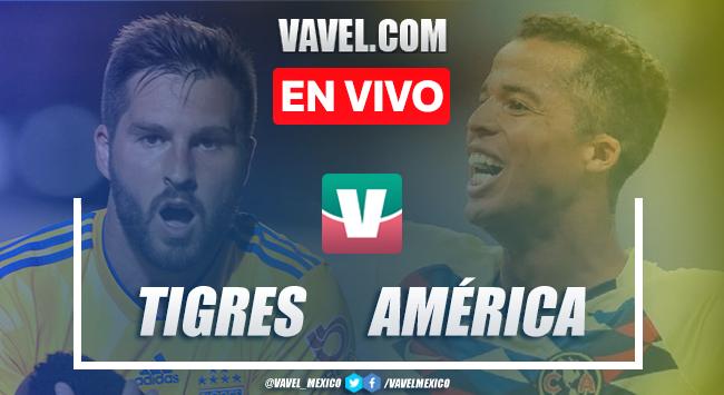 Resumen y video goles Tigres 1-1 América en Liga MX 2019