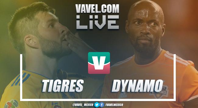 Resumen y goles del partido Tigres 1-0 Dynamo en Concachampions 2019