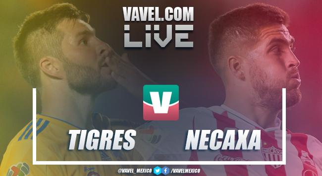 Resumen y goles del partido Tigres 3-2 Necaxa de la Liga MX 2019