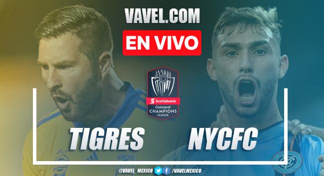 Goles y Resumen del Tigres 4-0 New York City FC en Concachampions 2020