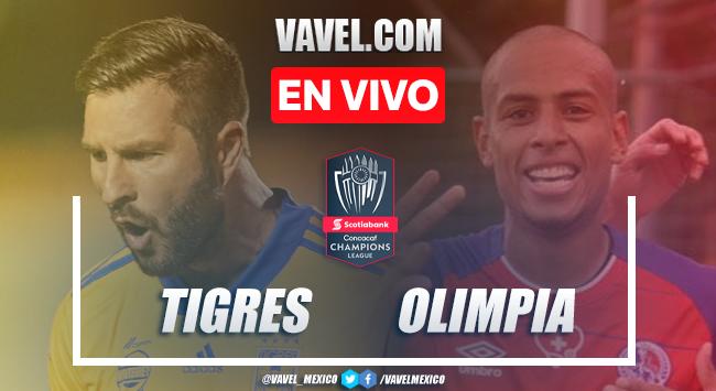 Resumen y goles: Tigres 3-0 Olimpia en Semifinal de Concachampions 2020 (3-0)
