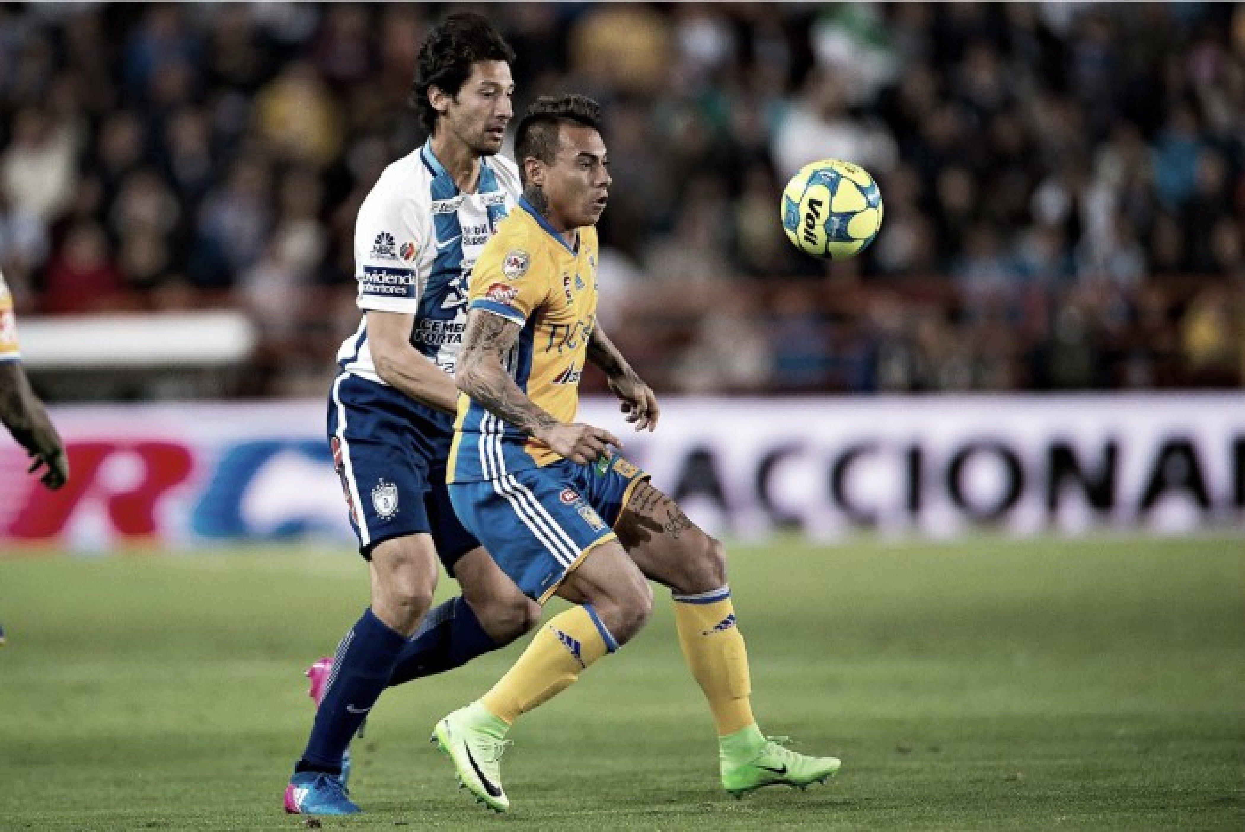 Resultado y goles del Pachuca (1) vs (1) Tigres en vivo online en Liga MX 2018