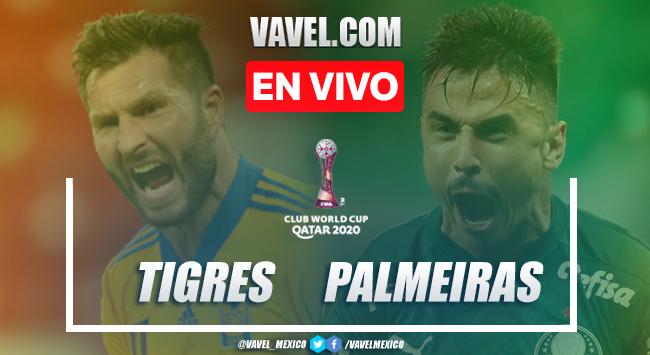 Gol y resumen del Tigres 1-0 Palmeiras en Semifinal Mundial de Clubes 2021