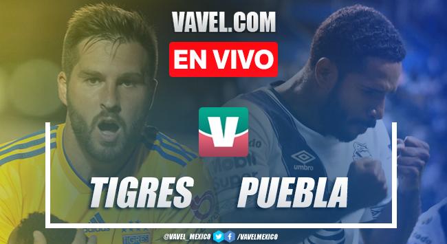 Resumen y goles Tigres 0-1 Puebla en Apertura 2019 Liga MX