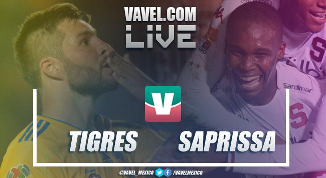 Resumen y goles Tigres 5-1 Saprissa en Octavos Concachampions 2019