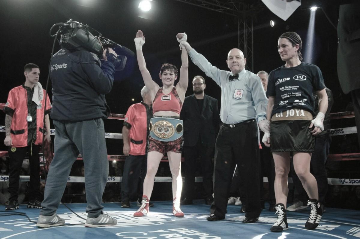 Tigresa inoxidable: victoria y otra vez campeona mundial
