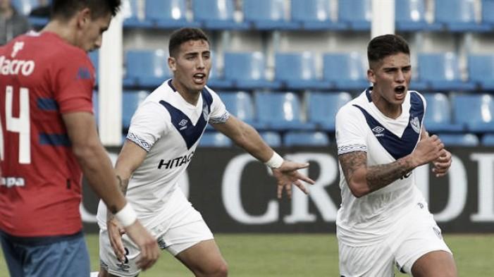 Vélez goleó a Tigre y se aleja del fondo en los promedios