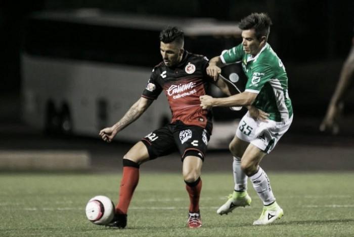 Xolos empata sin goles ante Léon
