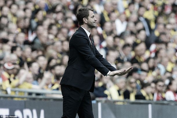Tim Sherwood reflects on Aston Villa's FA Cup final defeat to Arsenal