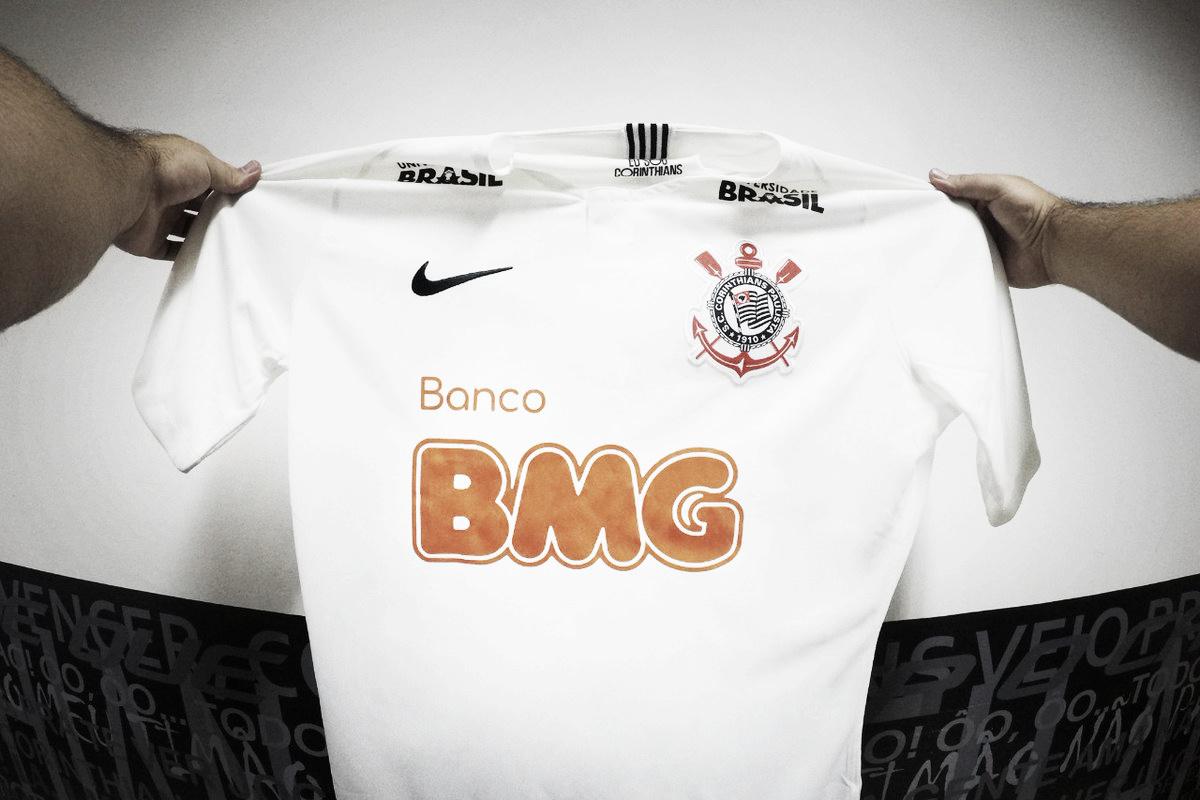 Corinthians anuncia banco BMG como novo patrocinador master