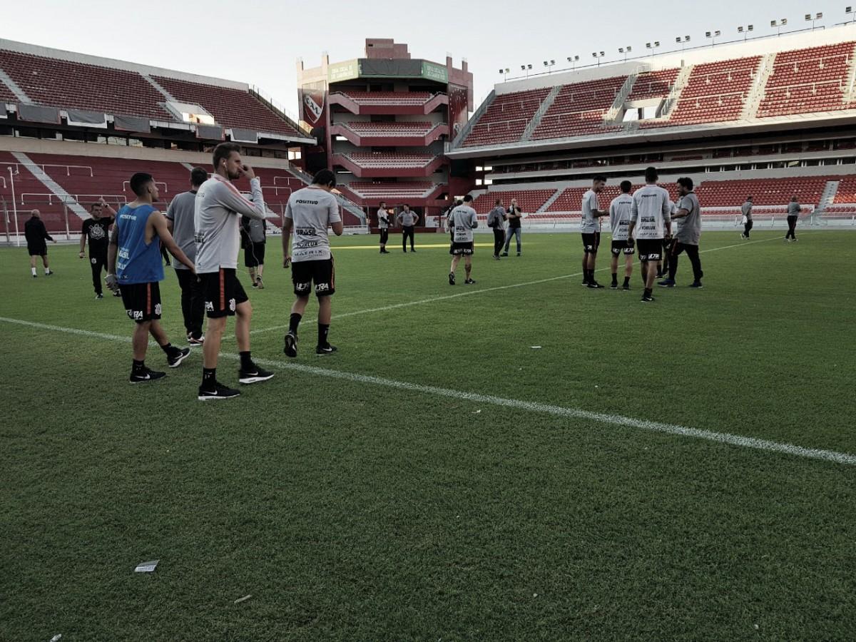 Contra Independiente, Corinthians visa manutenção de boa fase e liderança do Grupo 7