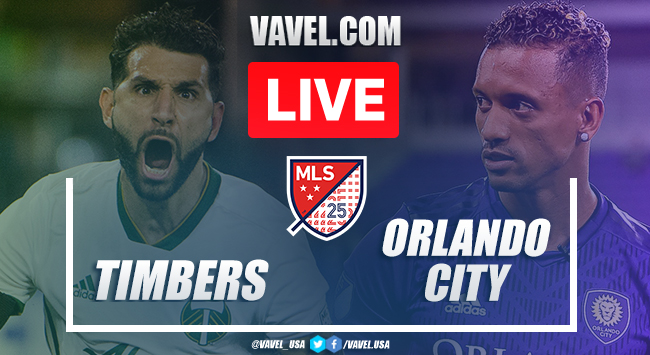 Portland Timbers vs Orlando City: LIVE Stream and Updates (2-1)