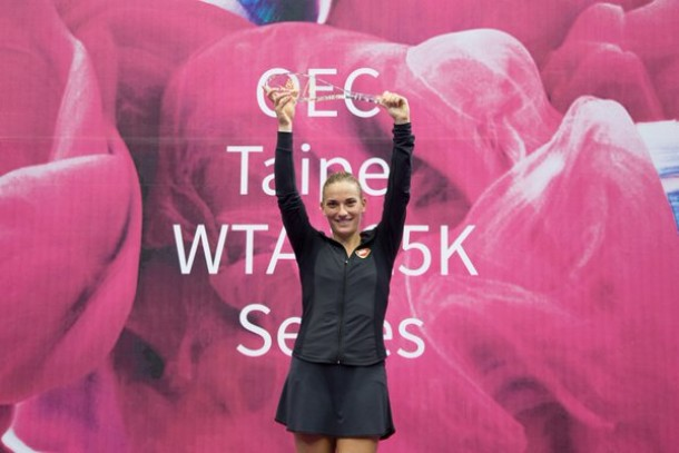 OEC WTA Taipei Challenger: Timea Babos Serves Up Second-Biggest Singles Title