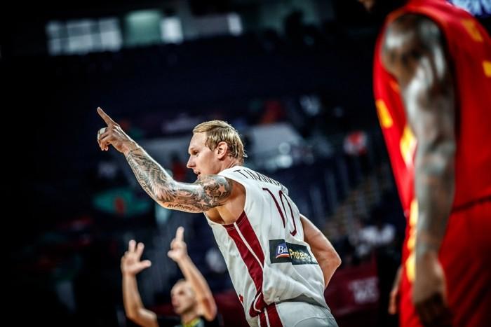 Eurobasket: La Lettonia si guadagna la Slovenia, Montenegro asfaltato