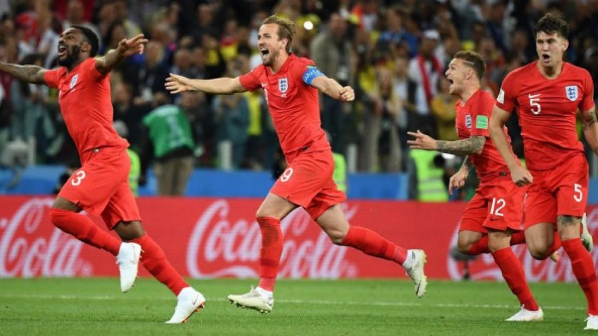 Lewati Kutukan, Inggris Lolos ke Perempat Final