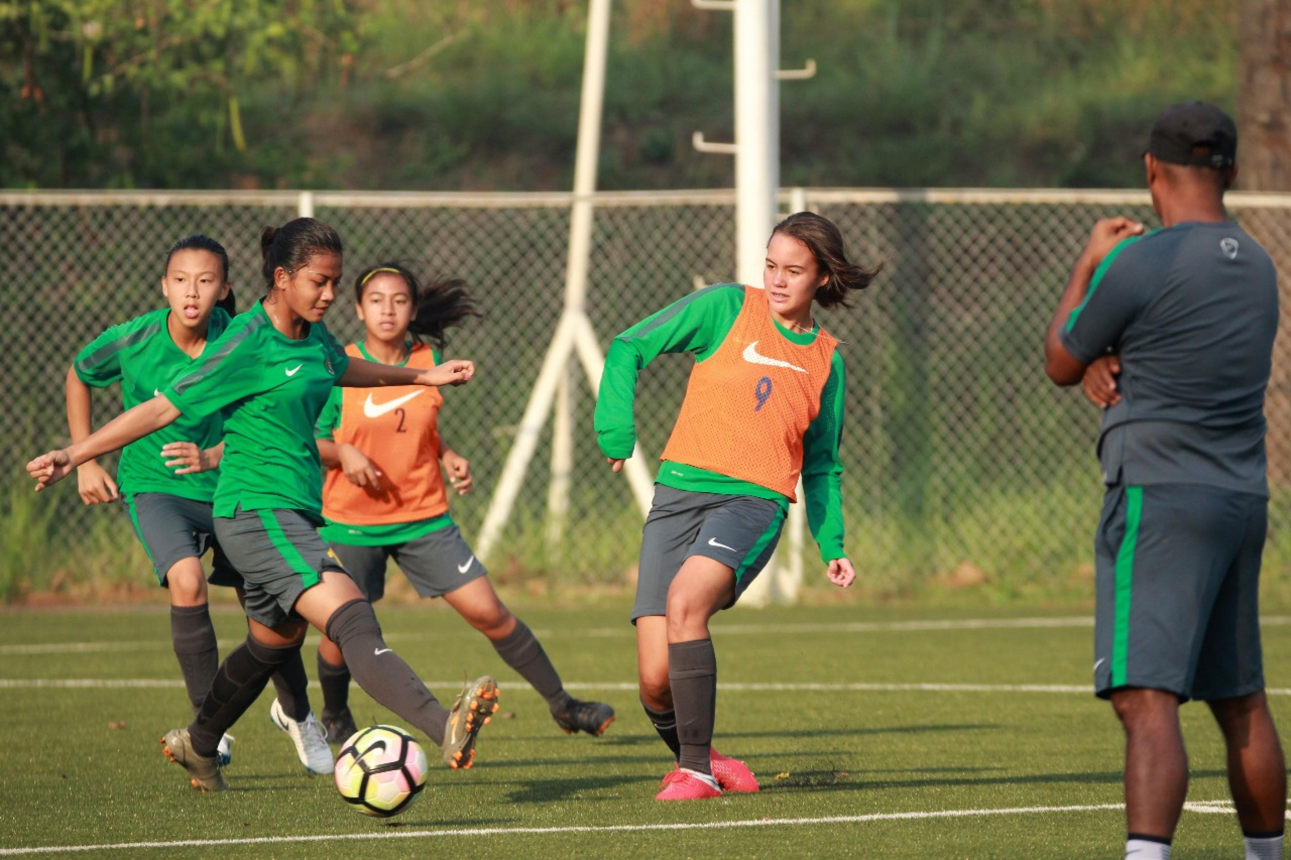 Timnas Putri U-16 Yakin Raih Kemenangan Atas Kirgizstan