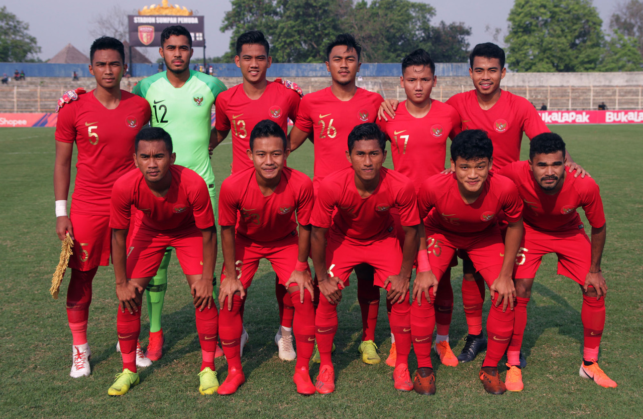 Timnas U23 Rumpungkan TC    Di Bandar Lampung