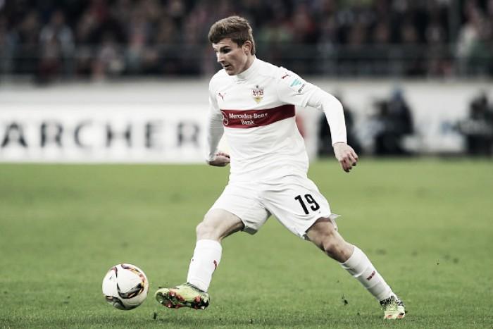 Atacante Timo Werner deixa Stuttgart e assina com RB Leipzig por quatro anos