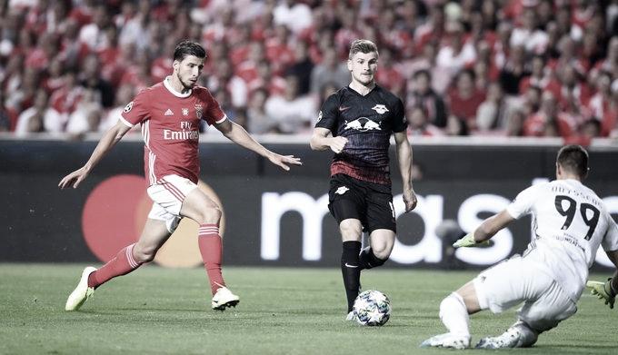 RB Leipzig vence Benfica fora de casa na primeira rodada da Champions