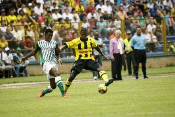 Resultado Atlético Nacional vs. Alianza Petrolera en la Liga Postobón 2014-I (5-1)