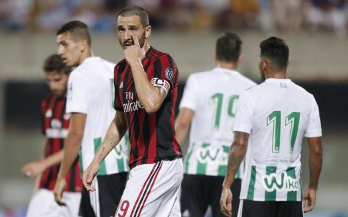 Il Milan si arrende al Betis Siviglia