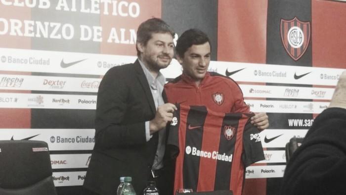 """Alberto Costa: """"Estoy en el club más grande de la Argentina"""""""