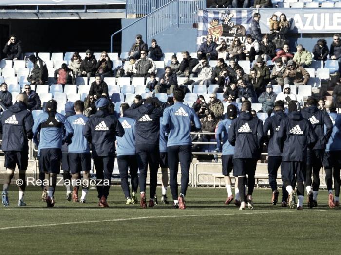 Plan semanal Real Zaragoza
