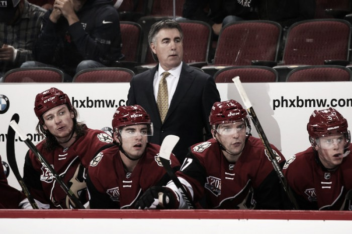 Arizona Coyotes facing wrath of Dave Tippett after poor effort