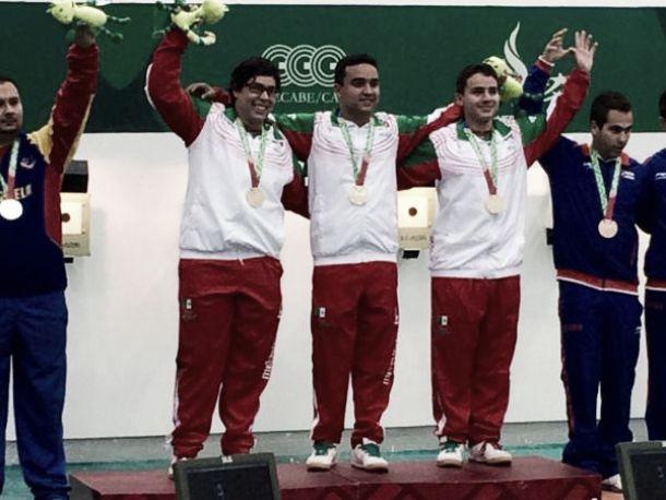 Oro, plata y bronce para México en tiro deportivo