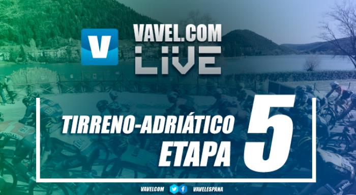 Resultado etapa 5 Tirreno-Adriático: Sagan impone su ley