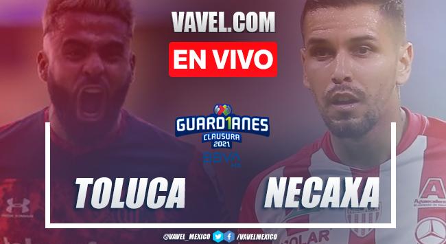 Resumen y goles: Toluca 2-0 Necaxa en Liga MX Guard1anes 2021