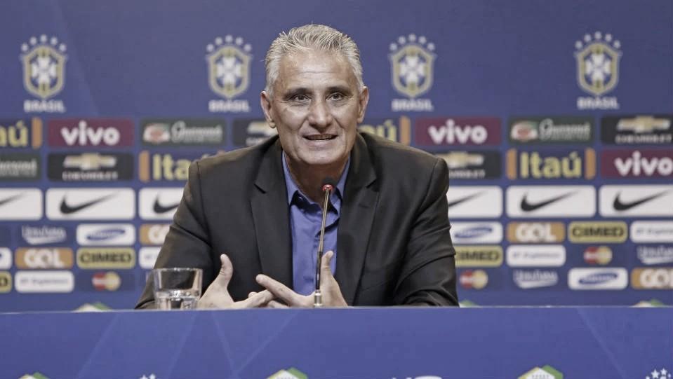 """Em momento conturbado na Seleção, Tite ressalta: """"Estou em paz comigo mesmo"""""""