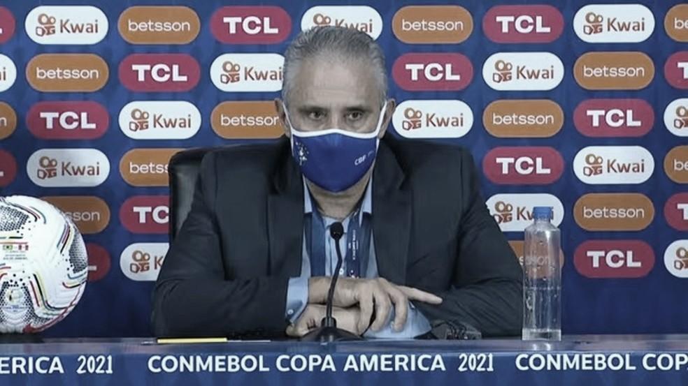 Tite fala sobre Gabigol, Neymar e Copa América após goleada sobre o Peru
