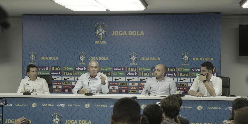 No Recife, Tite elogia energia da torcida: ''Sei da força que o torcedor pernambucano tem''