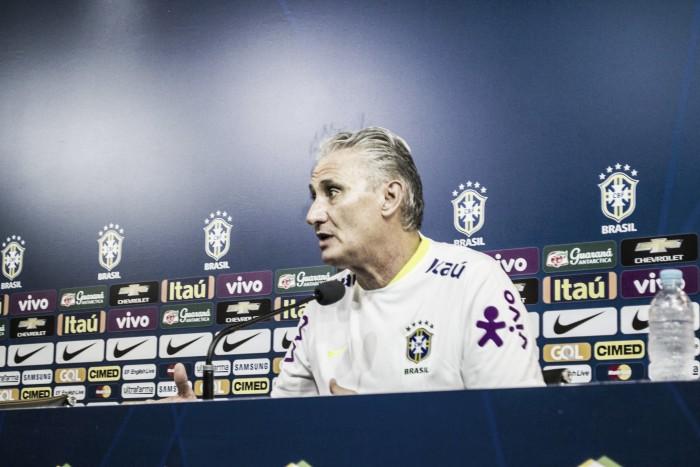 """Tite não esconde ansiedade de primeiro clássico à frente da Seleção: """"Não vou ser hipócrita"""""""