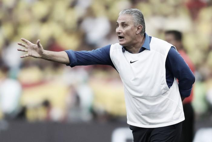 """Tite elogia atuação mesmo com empate contra Colômbia: """"Mantivemos o padrão"""""""
