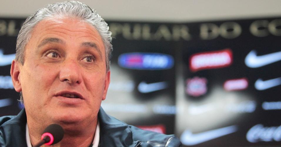 Tite assume ansiedade para a decisão diante do Boca Juniors