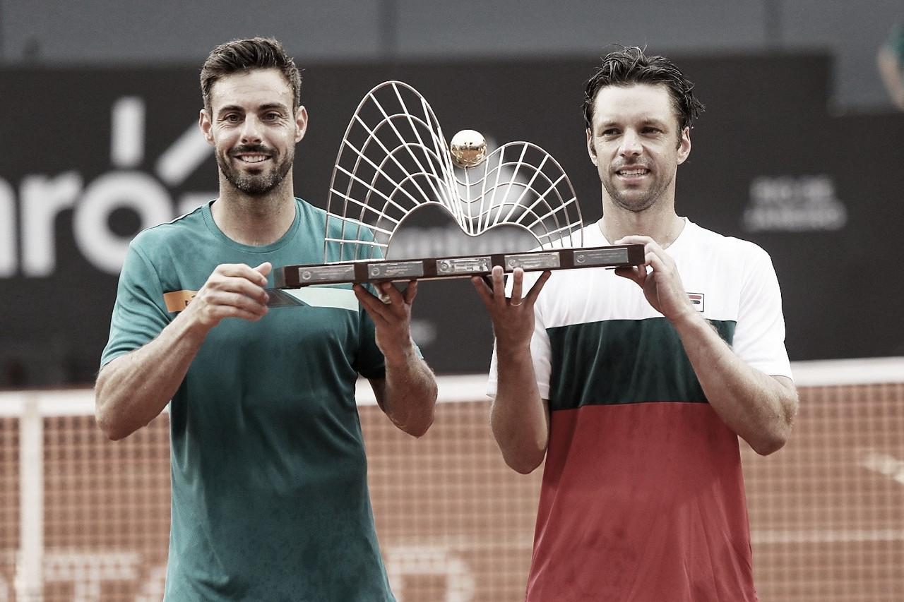 Granollers/Zeballos vencem Caruso/Gaio e faturam título das duplas do Rio Open