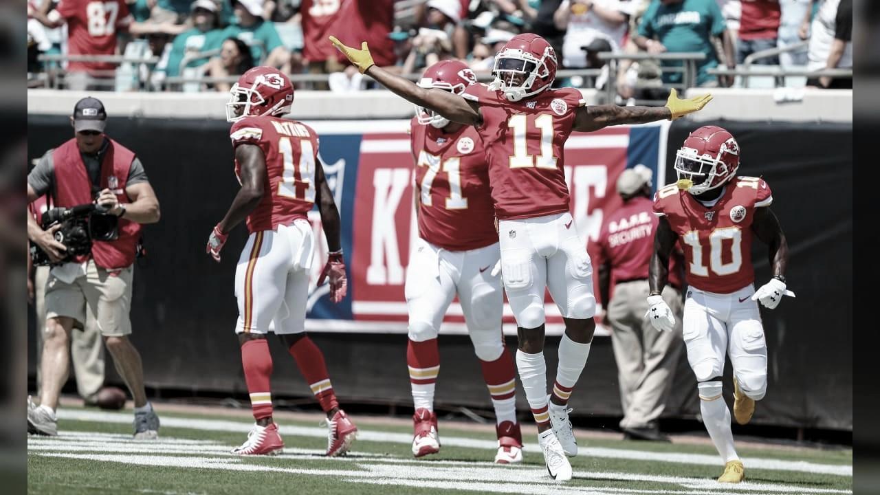 Fácil triunfo de los Chiefs en casa de los Jaguars