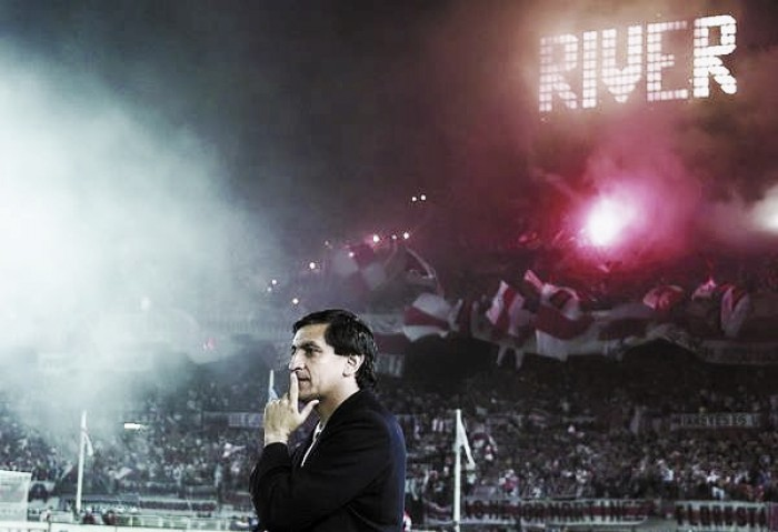 A 22 años del debut de Ramón como DT de River