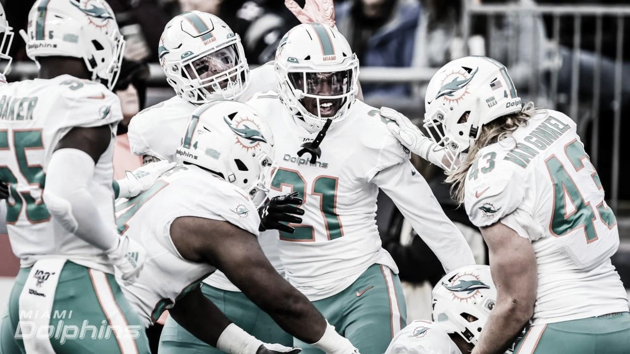 Histórico y sorpresivo triunfo de los Dolphins en tierras Patriotas