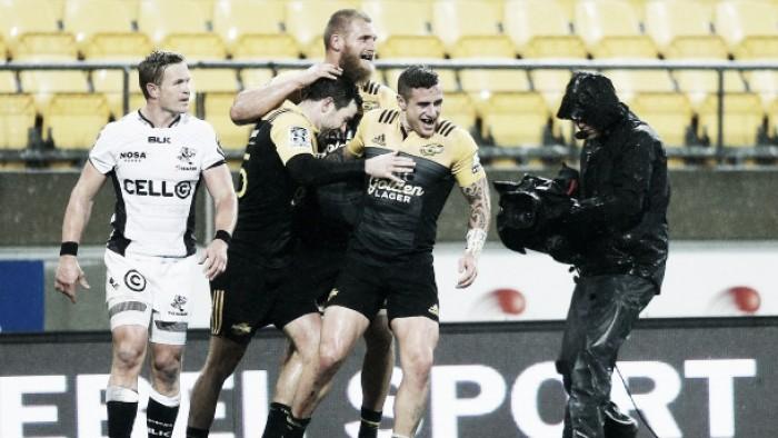 Super Rugby playoffs: Barrett and Perenara help Hurricanes destroy Sharks 41-0