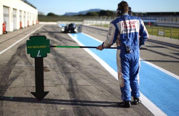 Toyota completa intenso programa de testes em Paul Ricard