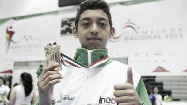 Dedica joven Rubén Torres oro a Ciudad Acuña
