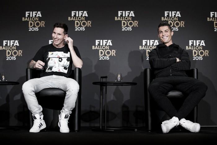 """Cristiano Ronaldo nega rivalidade com Messi: """"Há respeito entre nós"""""""