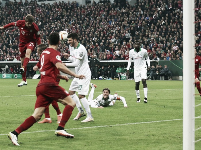 Bayern Munich 2-0 Werder Bremen: Müller brace sends hosts to Pokal final
