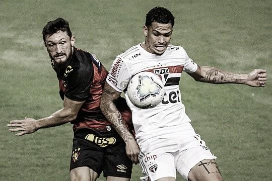 Sport peca nas finalizações, São Paulo é eficiente e vence na Ilha do Retiro