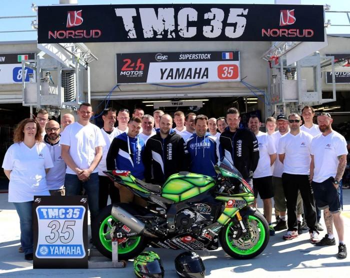 Le TMC 35 aux 24H du Mans en avril 2017 (Source : N.Chataignier)